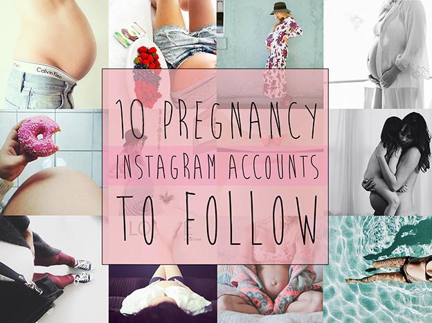 10 Pregnancy Instagram Accounts to Follow